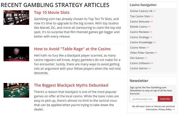 Best Gambling Strategies