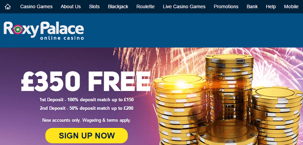 Casino Gambling Games RoxyPalace