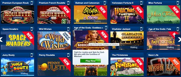 favorite online gambling games
