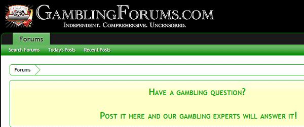 Gamblers Forum