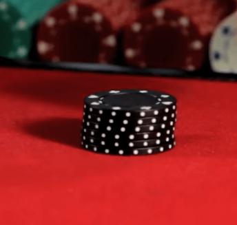 gambling chips black