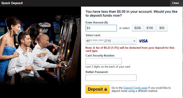 new gambling sites deposit