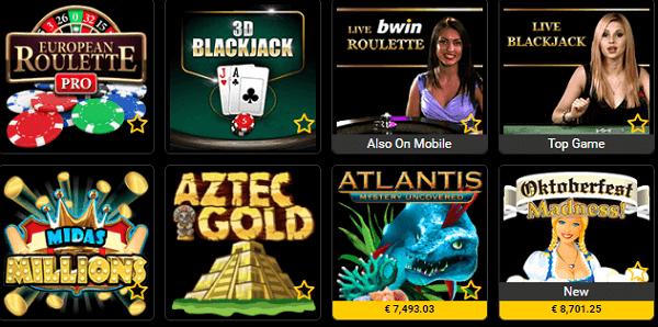 On Line Gambling Games