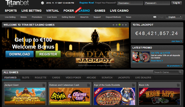 Online gambling other games