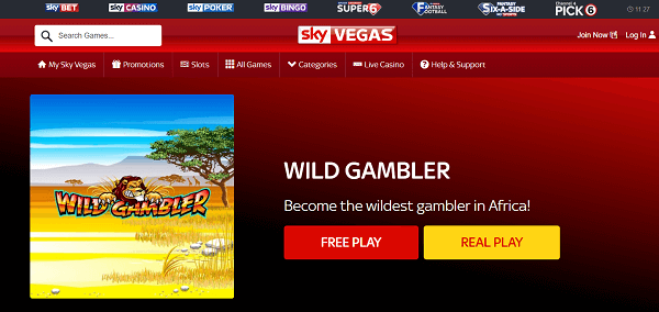 the gambler slot machine free play