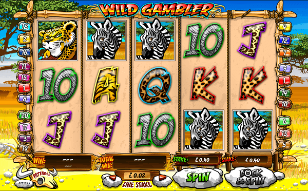 the gambler slot machine