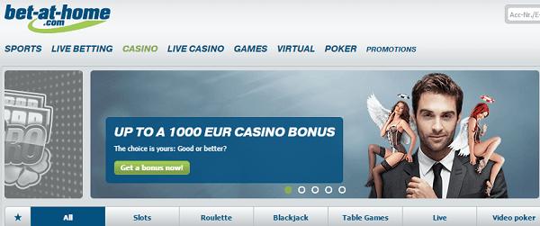 Top 10 Gambling Sites Bet At Home