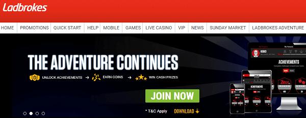 Top 10 Gambling Sites Ladbrokes