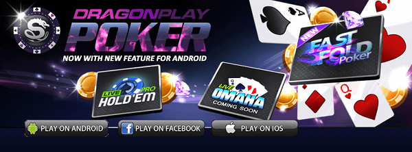 Dragon Play Poker Mobile Gambling App